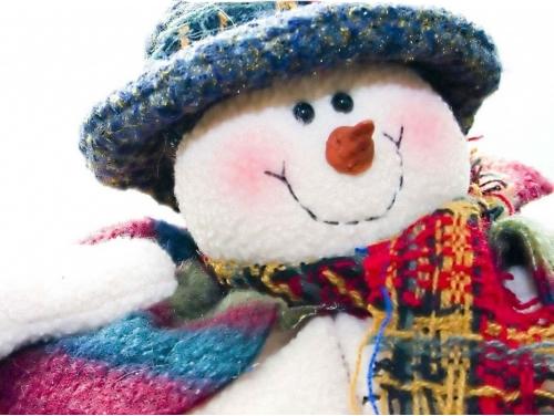 Immagini di Natale Pupazzo di Neve bello