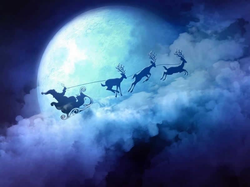 Immagini Di Natale Desktop.Immagini Di Natale Sfondo Di Natale Desktop Con Babbo