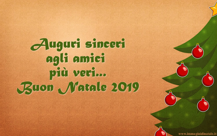 Immagini di Natale Auguri di Natale 2019