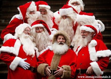 Immagini di Natale Foto Natalizia Babbo Natale