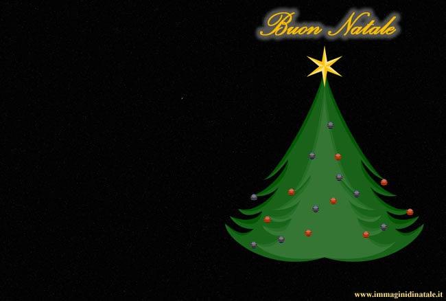 Immagini di Natale - Immagine Albero di Natale