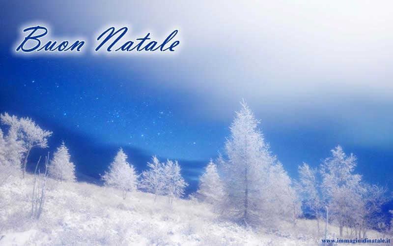 Immagine Paesaggio di Natale: Immagine di Natale Paesaggio