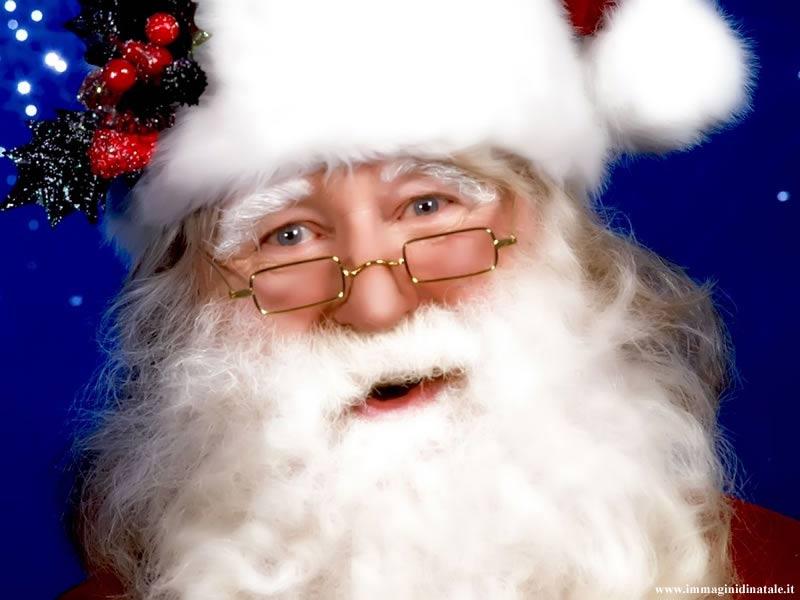 Immagini Babbo Natale: Volto di Babbo Natale