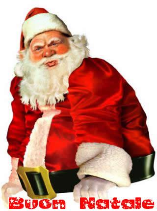 Immagini Babbo Natale: Babbo Natale serio