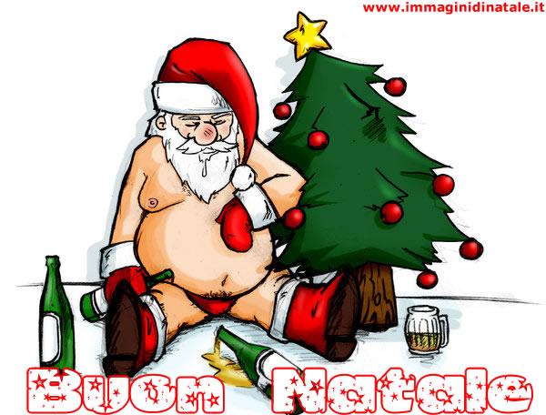 Immagini Babbo Natale: Babbo Natale ubriaco