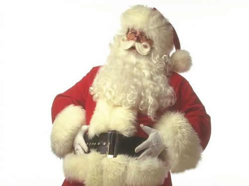 Immagini di Natale Babbo Natale in posa