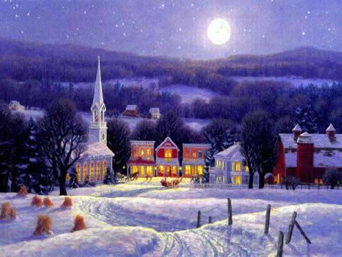 Immagini di Natale Immagini Natale paese