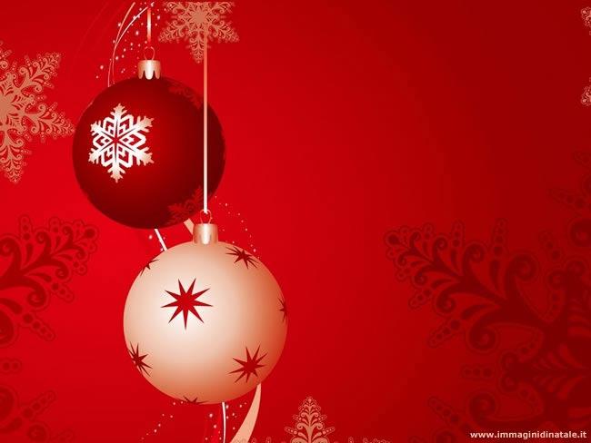 Immagini di Natale Palline di Natale colorate